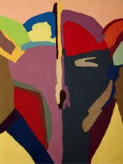 12, Oil Painting on Canvas,120x140cm, 2009, SOLD