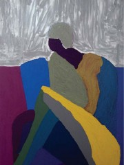 28,Oil Painting on Canvas and wood,200x122cm, 2009