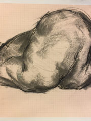41.5×29.3 cm, charcoal and chinese ink on paper, 2018, 3