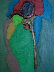 Oil Painting on Canvas,100x70cm, 2012